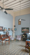 Downtown Colonial House with Bed & Breakfast Running in Merida