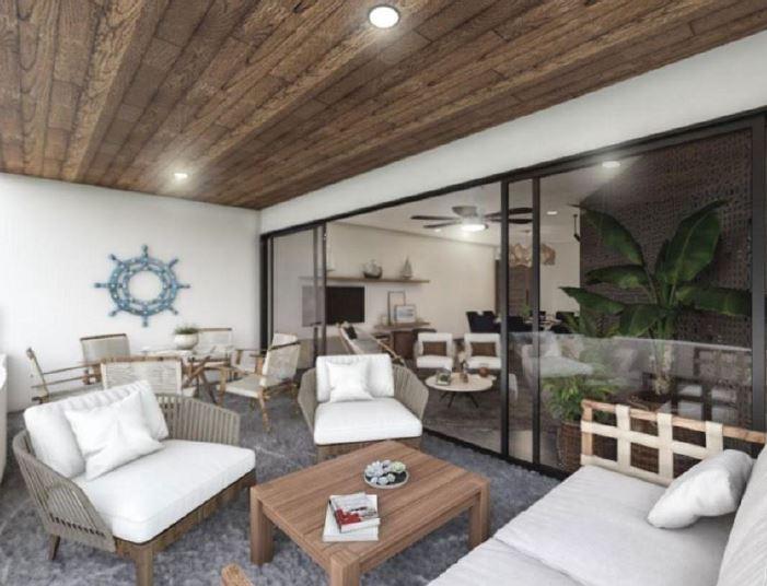 Beachfront apartments in Uaymitun, Yucatán