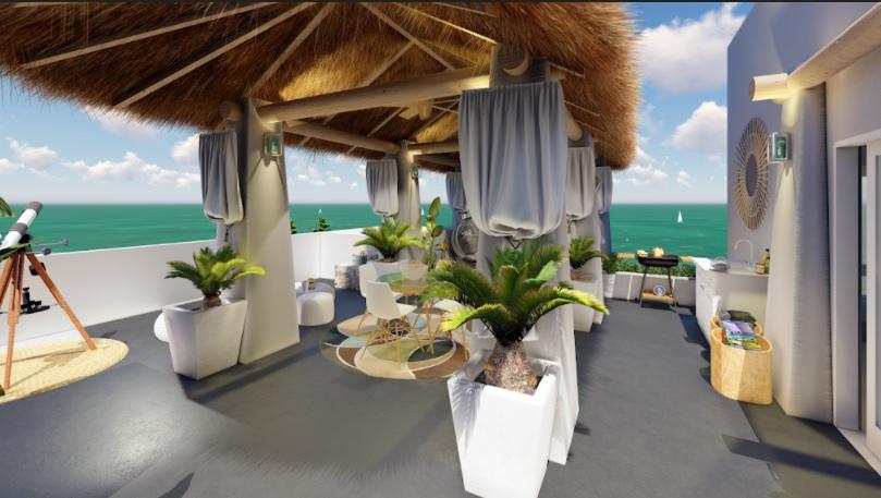 Two bedroom Condo beachfront