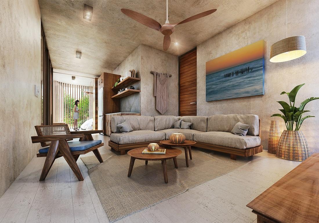 2 bedroom lock off condo for sale in Playa del Carmen