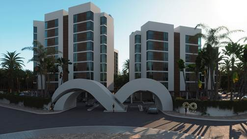 Spacious 3 bedroom condo in Cancun downtown.