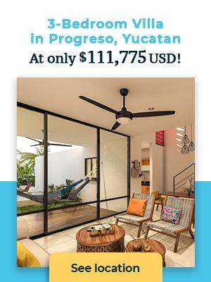 3-bedroom villa for sale in Progreso Yucatan