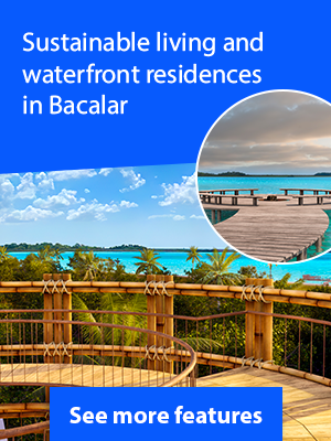 Lagoon Front Lots For Sale in Bacalar