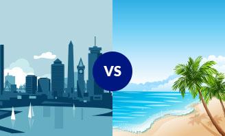 Boston vs. Playa del Carmen