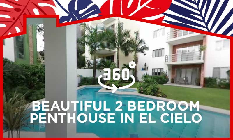 360° Video - Beautiful 2 Bedroom Penthouse in El Cielo