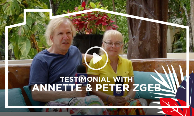 Testimonial with Annette & Peter Zgeb