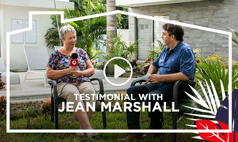 Testimonial Jean Marshall